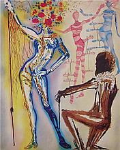Salvador Dali - The Ballet of Flowers