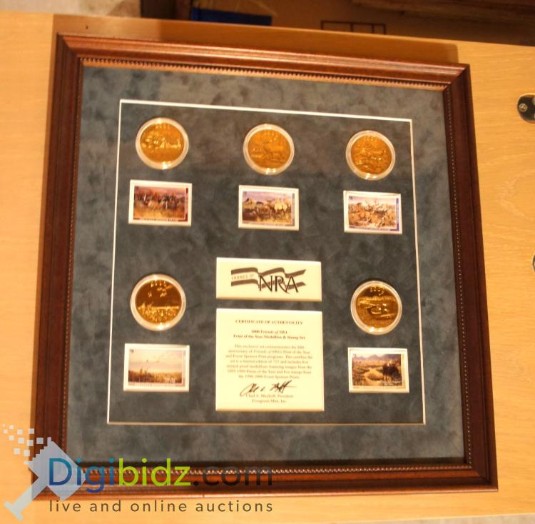 Evergreen Mint, Inc. Print of the Year Coin and Stamp Set