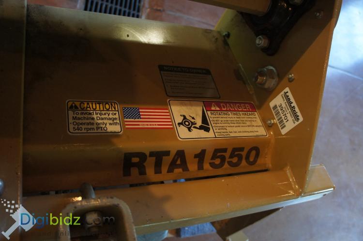 Lot 26: Land Pride RTA Series 50 inch Rotary Tiller