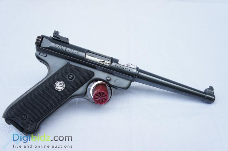 Lot 29: Ruger MKII 10 Round .22LR Automatic Pistol