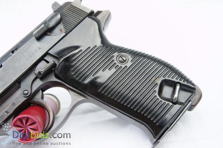 Lot 31: Walther P38 8 Round 9mm Automatic Pistol