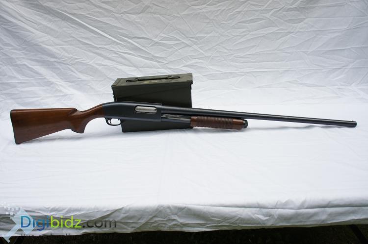 Lot 44: Remington 870 Wingmaster 12 Gauge Pump Action Shotgun