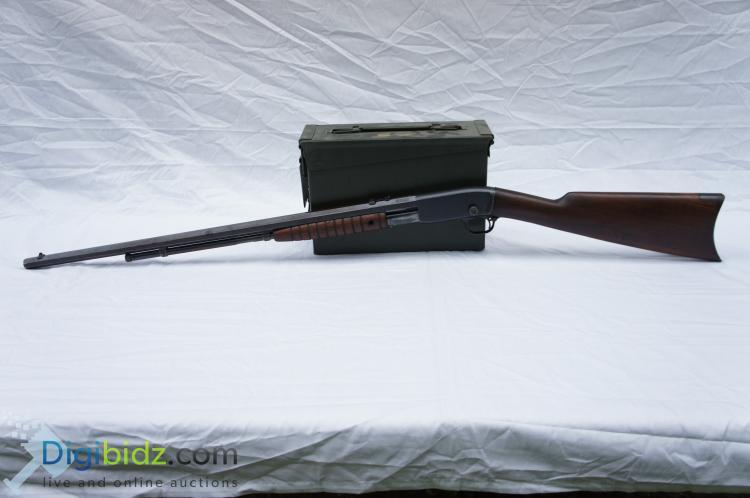 Remington 12C Octagon Barrel Pump Action .22LR/S/L Rifle