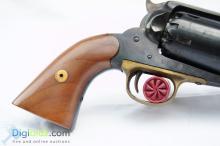 Lot 51: Double Action Flintlock Blunderbuss Pistol by John Richards, London