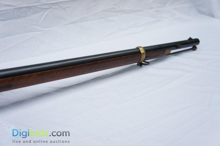 Lot 54: Replica Remington 1863 Zouve HY Hunter Percussion Rifle .58 Cal.