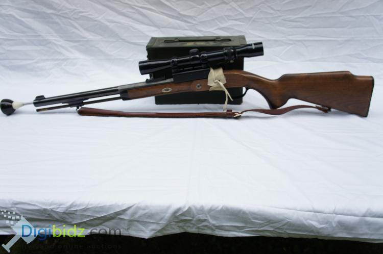 Hawken Carbine .50 Cal Black Powder Rifle with Tasco Scope