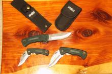 Lot 2: 4-Piece NRA Knife Set