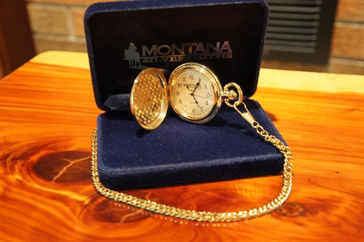 Lot 9: NRA Pocket Watch