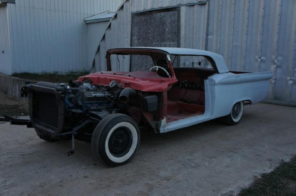 1959 Ford Fairlane 500 Galaxie Retractable Hardtop Project Car
