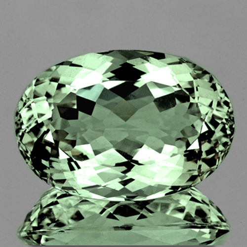 Natural Green Amethyst 17.17 Ct - Flawless