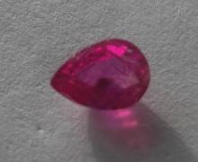 Natural Ruby 0.655 carats - no Treatment
