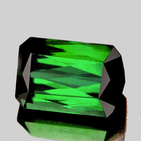 Natural Chrome Green Tourmaline 2.41 Cts - Flawless