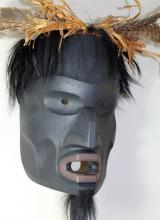 West Coast Native 'Outh Ma Koik' -Wild Man of the Woods