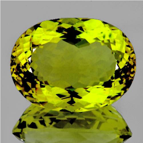 Natural Green Gold Lemon Quartz 71.25 Cts - FL