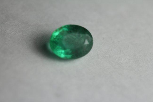 Natural Green Emerald 2.38 Carats - No Treatment
