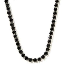 Diamond Polished Black Spinel necklace - 170 carat
