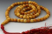 Natural Egg Yolk ButterScotch Muslim 99 Prayer Beads
