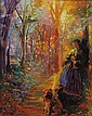 Paul Williams (American, b. 1934) Forest Walk Signed
