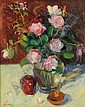 Susan Grisell (American, 20th/21st Century) Roses Signed