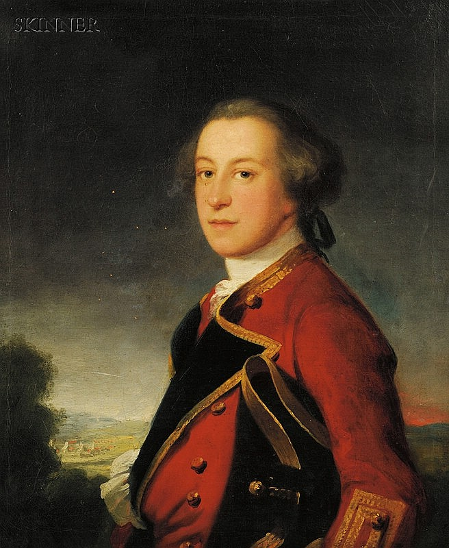 Attributed to Benjamin Wilson (British, 1721-1788) Portrait of Colonel Henry Smart Unsigned, ...