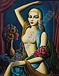 Paul Raphael Meltsner (American, 1905-1966) Broadway Doll [Jayne Mansfield] Signed