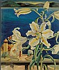 Charlotte Harrington Scott (American, b. 1905-1963) Lilies Signed