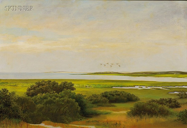 Robert Hale Ives Gammell (American, 1893-1981) Wellfleet Bay Signed and dated