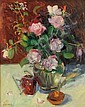 Susan Grisell (American, 20th/21st Century), Roses, Signed