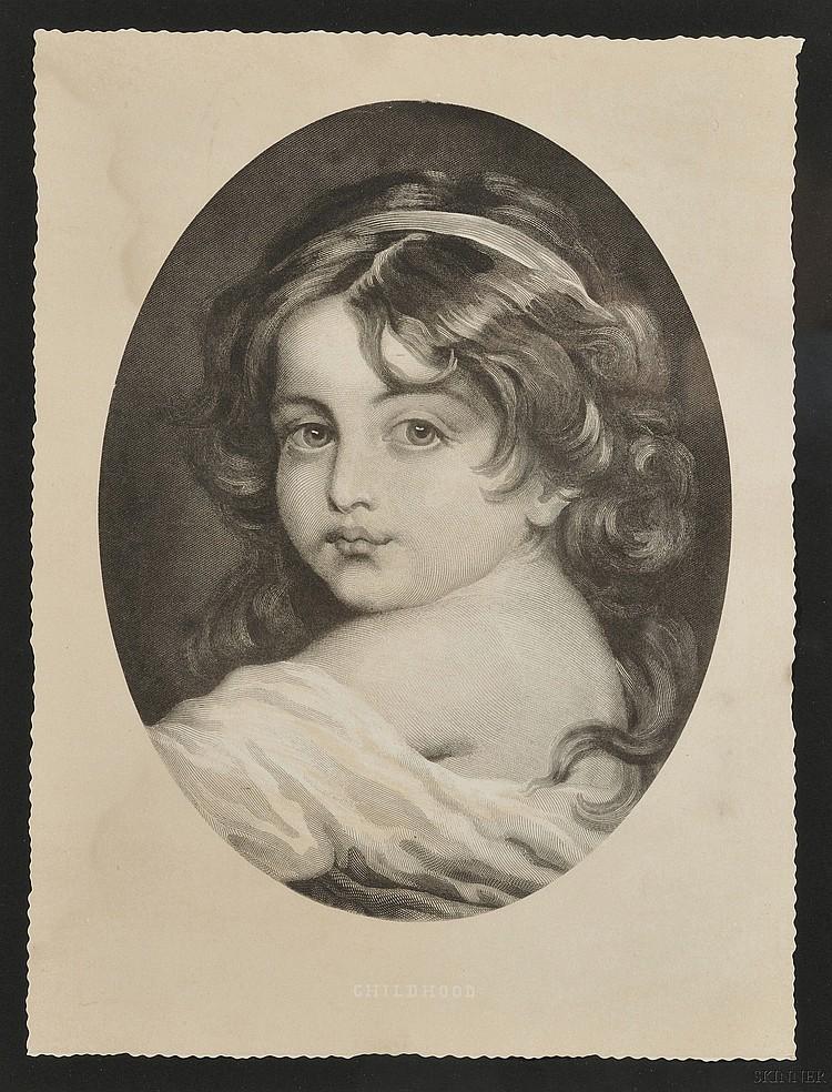 Lot of Three Framed Engravings: Heinrich Guttenberg (German, 1749-1818), After Pierre Antoine Baudouin, (French, 1723-1769), Perrett...