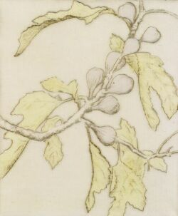 Bertha Evelyn Clausen Jaques (American, 1863-1941) Figs.   Signed (in pencil) l.r., titled l.l., annotated