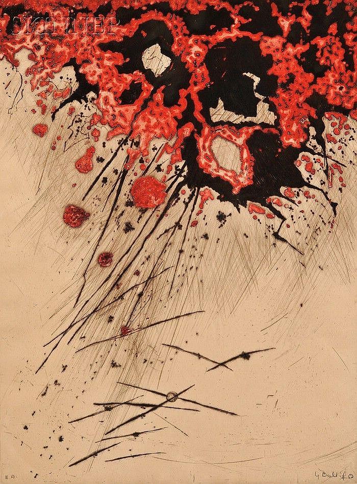 Yannick Ballif (British, b. 1927) Nagasaki, 1967. Signed and dated