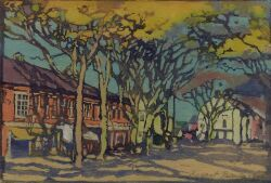 Margaret Jordan Patterson (American, 1867-1950) Nantucket (Main Street), c. 1918 (Bakker, 60).