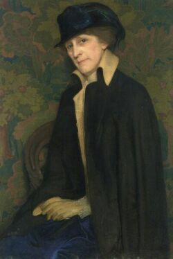 Florence Julia Bach (American, 1887-1978) Portrait of My Mother Signed and dated