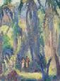 Omer Thomas Lassonde (American, 1903-1980) Lot of Two Paintings Including Cool Depths, Samoa, and, Omer Thomas Lassonde, Click for value
