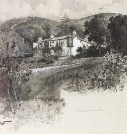 Harry Fenn (American, 1845-1911) Brantwood Signed