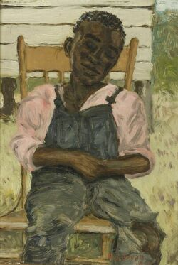 Richard Jenkins Bryan (American, 1907-1986) Summertime in the Carolinas Signed and dated