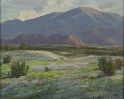 Wilton Charles McCoy (American, 1902-1986) of Two Desert Views: Desert Flowers and Desert Bouquet,
