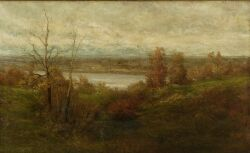 Roswell Morse Shurtleff (American, 1838-1915) Landscape Signed