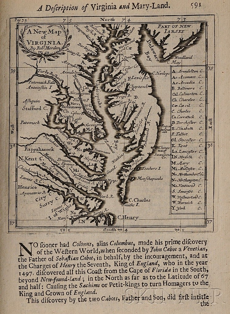 (Geography), Morden, Robert (c.1650-1703) Geography Rectified: or, A Description of the World, London: Printed for Robert Morden and Th