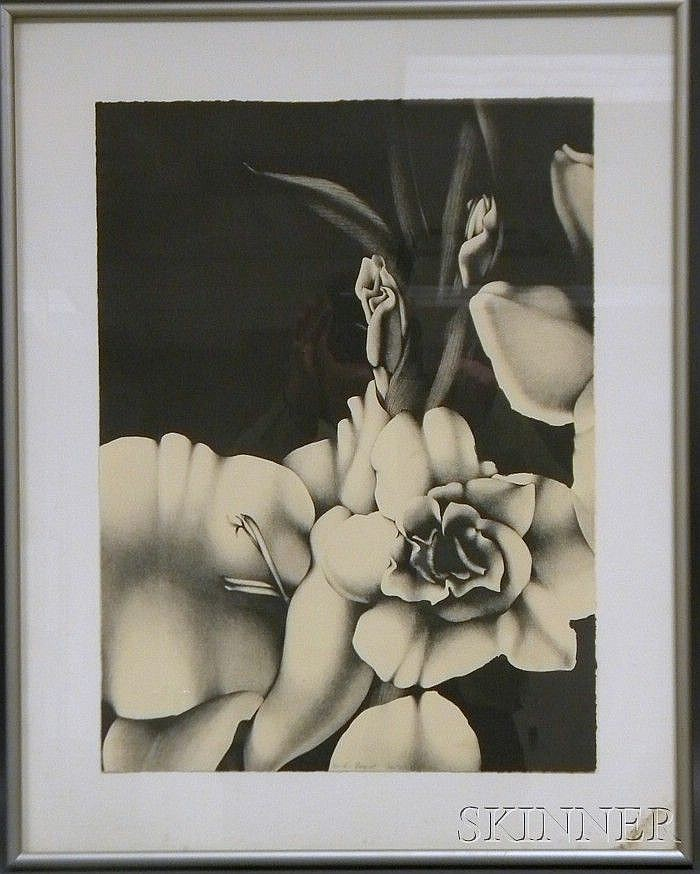 Teri Malo (American, 20th/21st Century) Bouquet Numbered, inscribed, titled, and signed