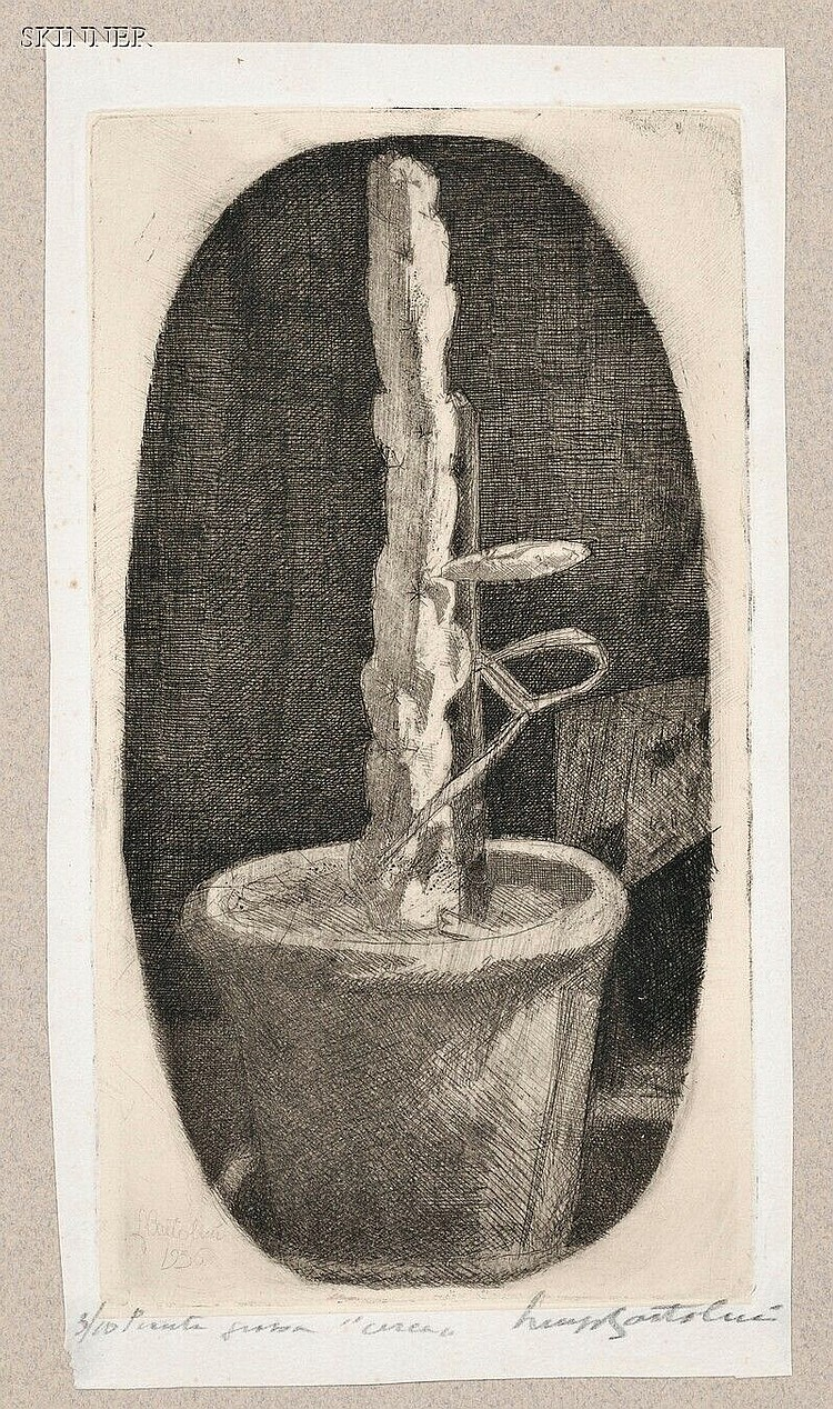 Luigi Bartolini (Italian, 1892-1963) Pianta Grassa... 1936, edition of 10. Signed