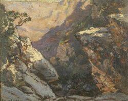 Frederick Ballard Williams (American, 1871-1956), Grand Canyon, Signed