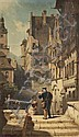 Carl Spitzweg (German, 1808-1885), Der Briefträger, c. 1870, Signed with artist's cipher l.l., canvas stenciled