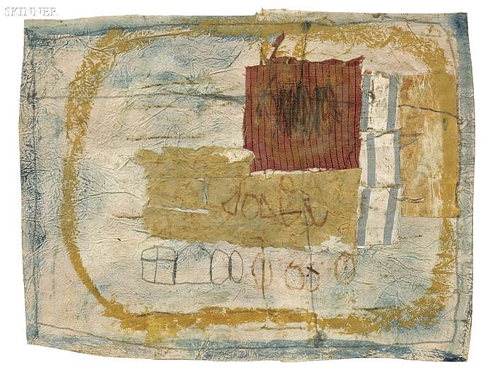 Hannelore Baron (American, 1926-1987) Untitled, 1986 Signed and dated on the reverse, according to a label from Barbara Mathes Galle...