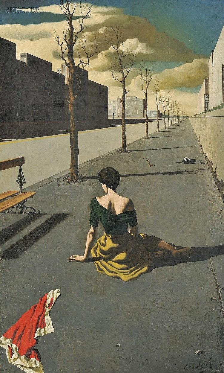 Jose Manuel Capuletti (Spanish, 1925-1978), Le Dernière Heure, Signed