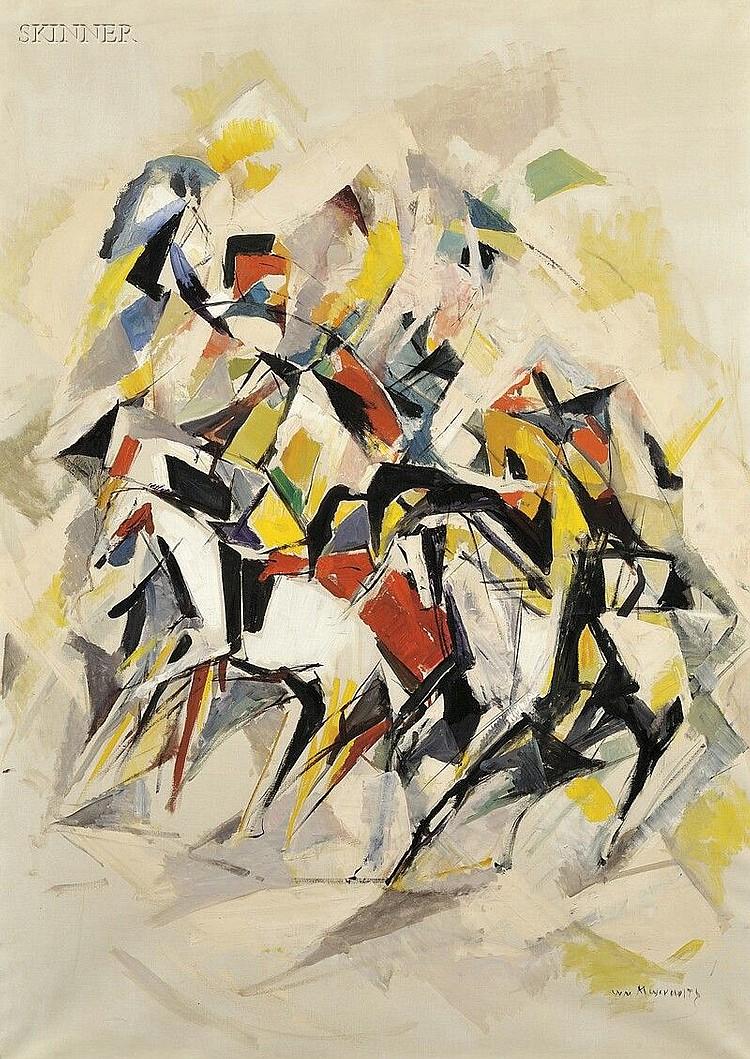 William Meyerowitz (American, 1887-1981), Kaleidescope, Signed