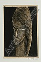 Ikeda Shuzo: Head of a Young Woman, signed in white ink, (fine impression, color, and condition), framed.e2..., Shuzo Ikeda, Click for value