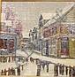 Heinrich Herman Pfeiffer (American, 1874 - 1960) Provincetown in Winter/Feb. 1926 Signed