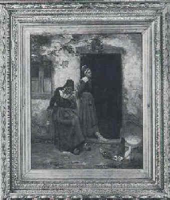 EDGAR MELVILLE WARD (AMERICAN, 1839-1915) DAY DREAMS