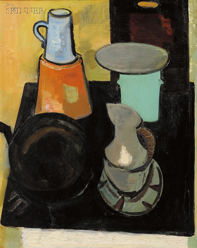 Jan Cox (American, 1919-1980) Still Life Signed and dated
